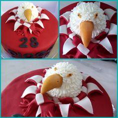Pormenores do bolo da Águia do benfica