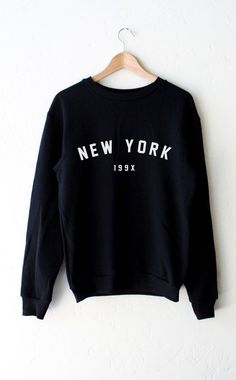 New York 199x Sweater - Black from NYCT