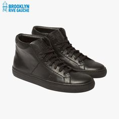 Baskets The Royale High noires - Greats #LeBonMarche #Tendance #LeDressing #Dressing #Brooklyn #fashion #mode #man #homme #Bk #USA #shoes #chaussures #BrooklynRiveGauche