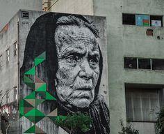 Португальский граффити-художник Даниил Айме