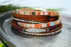Wrap Real Leather HIght Quality Bracelet Multilayer Woven Bangles With Crystal Rhinestone Wristband Bracelets For Women. - Hand Made Bracelet -Eco Friendly -Genuine High-Quality Leather - Real Crystal Rhinestones - Size: 38 cm Wrap Wristband Bracelet - Style: Boho Leather Bracelet - Plated Clasp Strong Magnet - Free Shipping