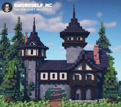 Video Minecraft, Minecraft Building Blueprints, Minecraft House Plans, Minecraft Farm, Minecraft Mansion, Minecraft Cottage, Minecraft House Tutorials, Cute Minecraft Houses, Minecraft Construction