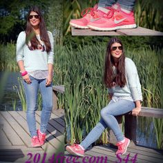 Need These Hot Punch Nikes! ♥      #freeruns30v4 net site for full of 52% off nike free run 3 girls