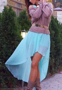 13 Best High Low Skirts images   Style inspiration, Outfits
