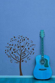 6 ideas perfectas para decorar con notas musicales | Ideas de decoración