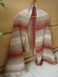 MES FAVORIS TRICOT-CROCHET  Modèle gratuit   Une étole au tricot Echarpe  Crochet, 8d02dfc378f