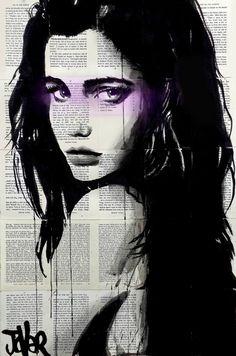 """Saatchi Art Artist Loui Jover; Drawing, """"kalahari"""" #art"""