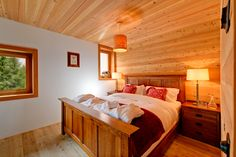 Selected previously by the London Times as one of the 20 most stylish chalets in the Alps. Esprit is a contemporary property, designed by a prominent Swiss architect, using high quality materials such as alpine larch and slate flooring. A luxurious freestanding chalet located on the Lengi Muru hillside next to a wooded forest filled with scenic walks. Spread across 3 floors, there are 4 luxurious bedrooms - 3 doubles and one twin, all serviced by en suite bathrooms. Saas Fee, Alpine Chalet, Log Fires, Slate Flooring, Luxurious Bedrooms, Contemporary, Modern, Alps, Luxury