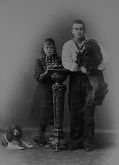 Grand Duke Boris and Grand Duchess Elena
