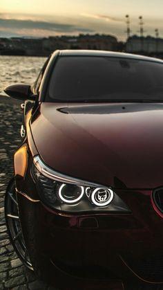 Bmw M5 E60, Bmw 650i, Automotive Photography, Car Photography, Super Sport Cars, Super Cars, Bmw Red, Bmw M3 Black, Bmw Range