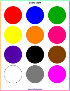 Free printable for kids (toddlers/preschoolers) flash cards/charts/worksheets/(file folder/busy bag/quiet time activities)(English/Tamil) to play and learn at home and classroom. Teaching Toddlers Colors, Toddler Color Learning, Toddlers And Preschoolers, Color Activities For Toddlers, Colors For Toddlers, Learning English For Kids, Preschool Colors, Teaching Colors, Toddler Learning Activities