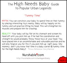 Nurshable | The High Needs Baby Guide to Popular Urban Legends