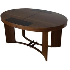 Rare Art Deco Dining Table by Gilbert Rohde for Herman Miller | From a unique collection of antique and modern dining room tables at http://www.1stdibs.com/furniture/tables/dining-room-tables/