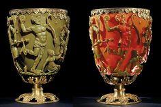 Тайна кубка Ликурга или древние нанотехнологии