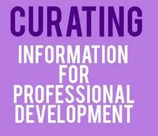 Infographic shows tools and steps for curation.