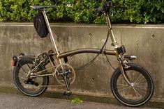 Bici Termini だより» ブログアーカイブ » Brompton カーボンリムへ換装いたしました。