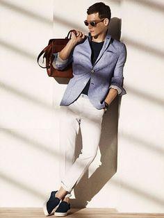 Massimo Dutti Summer Calling 2015 Men's Lookbook