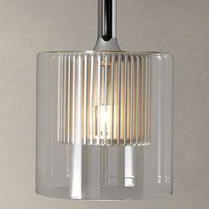 BuyJohn Lewis Salvatore Glass Pendant Light Online at johnlewis.com