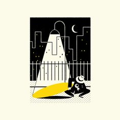 It's Nice That   Simone Massoni's film noir-inspired illustrations for The New Yorker's Crime Issue