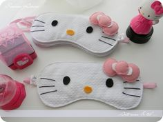 antifaz para dormir de hello kitty - Buscar con Google