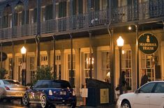 As the first hotel in one of the world's most haunted cities, it should come as no surprise that the Marshall House in Savannah, Georgia, is known to be quite spirited.