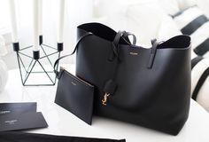 Nadire Atas on Designer Sunglasses YSL Shopper Luxury Bags, Luxury Handbags, Fashion Handbags, Purses And Handbags, Fashion Bags, Designer Handbags, Designer Tote Bags, Ysl Handbags, Designer Totes