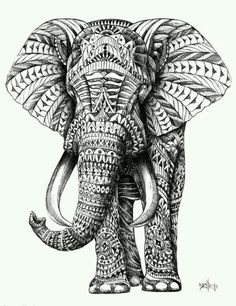 Elefante grafito