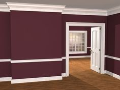Traditional Revival Moulding from the KB Classical Moulding Collection. You can download the millwork plan for this package.