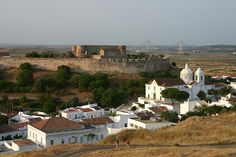 The village of Catro Marim is located a couple of Km from the Spanish border and you can see the bridge over the river Guadiana in the background.