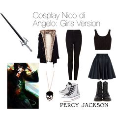 Nico di Angelo cosplay