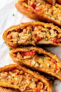 Skinny Recipes, Ww Recipes, Sausage Recipes, Italian Recipes, Cooking Recipes, Skinnytaste Recipes, Healthy Recipes, Healthy Dinners, Delicious Recipes