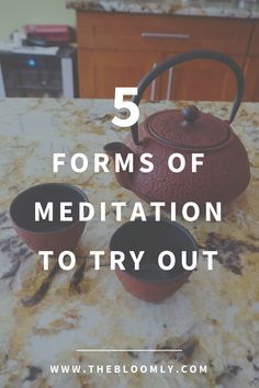 5 Forms of Meditation to Try