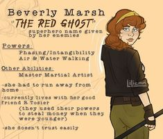 It Movie Cast, It Cast, Red Ghost, Superhero Names, Beverly Marsh, Am I In Love, It The Clown Movie, Im A Loser, Crazy Fans