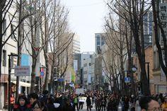 Insadong Street    Seoul/ South Korea