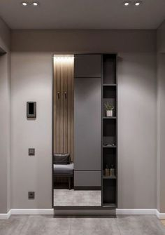 Apartment Door Entrance Design Ideas For 2020 - Image 13 of 24 Apartment Entrance, Apartment Layout, Apartment Design, Wardrobe Door Designs, Wardrobe Design Bedroom, Dressing Room Mirror, Dressing Table Design, Entrance Design, Entrance Ideas