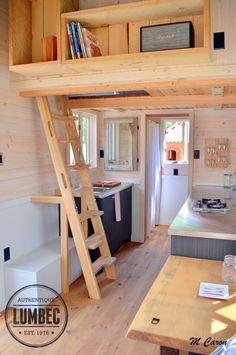 Micro Lumbec Tiny House on Wheels 002