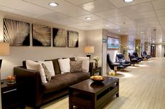 The Fountain Of Youth Spa & Salon onboard the Bahamas Celebration