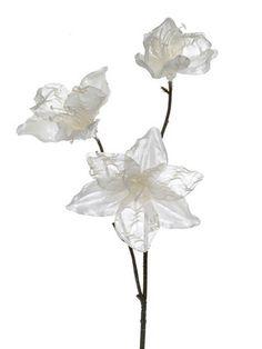 Artificial Vintage Lily Spray