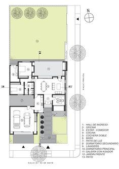 House JM,Floor Plan
