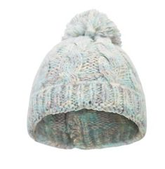 Mountain Warehouse Swiss Cable Beanie in Pale Blue Warm and Cosy in One Size 58b309a58ed3