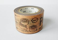 mt Washi Masking Tape  Brown Packaging  Limited by craftyjapan, $16.50