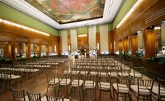 Wedding Ceremony at Cincinnati Museum Center