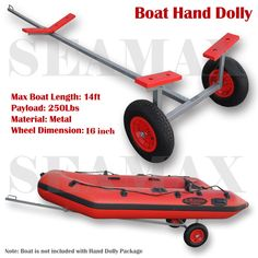 Hand Dolly - Seamax Inflatable Boats & Accessories - USA & Canada with Fast Shipping Service