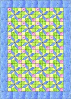 Pretty in Pastels Baby Quilt Pattern