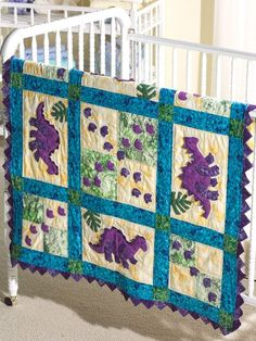 Baby quilt from Quilting with My Sister - by Teri Christopherson ... : patchwork quilts for boys - Adamdwight.com