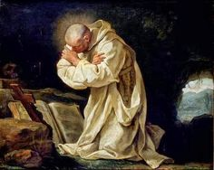 Jean-Bernard Restout, St. Bruno Praying in the Desert