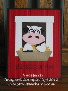 Free Punch Art | Got Milk? Cow Punch Art | Stamp, Scrap  Create with Me