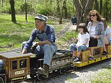 Lake Shore Live Steamers - 2014 dates: April 27 (Earth Day) May 4 (Railroads in the Parks) June 1 June 22 July 20 July 27 August 10 August 24 September 7 (Bug Day) September 28 October 5 December 6