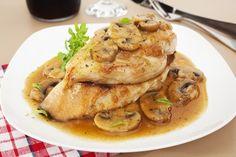 ¡Pollo guisado con setas! listo en 30 minutos    #PolloGuisadoConSetas #PolloEnSalsa #RecetasDePollo #PolloConSetas #RecetasDeAves