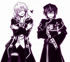 Vincent and Gilbert switched clothes.  That's I don't even